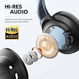Гибридные наушники Anker Soundcore Life Q20 с активным шумоподавлением беспроводные накладные Bluetooth, фото 4