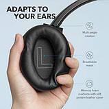 Гибридные наушники Anker Soundcore Life Q20 с активным шумоподавлением беспроводные накладные Bluetooth, фото 5