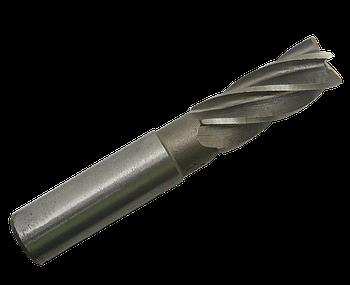 Фреза концевая Ø 12 Z-5 Р9К5 с цилиндрическим хвостовиком