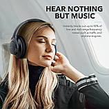 Гибридные наушники Anker Soundcore Life Q20 с активным шумоподавлением беспроводные накладные Bluetooth, фото 10