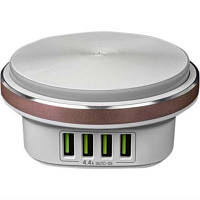 Ночник Colorway with USB Charger 2X USB 4.4А white (CW-CHL44A / CW-CHL4)