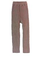 Гамаши (рельефная вязка), рост 122-128 см, фото 1