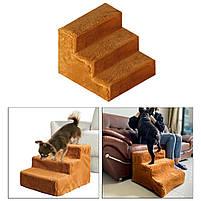 Драбинка для собак, драбинки і сходинки для собак, пандус сходинки для собак,сходи,драбини, фото 9