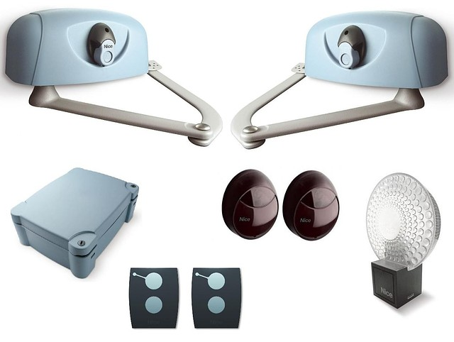 Комплект приводов  для автоматизации распашных ворот Nice HYppo 7000