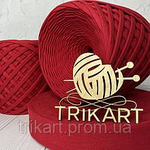 Трикотажная пряжа TRIKART Красный 7-9мм