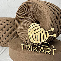 Трикотажная пряжа TRIKART Капучино 7-9мм