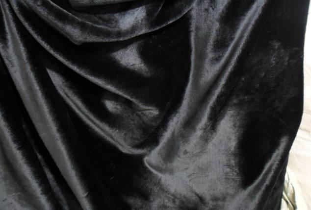 Мутон полированный черный, фото 2