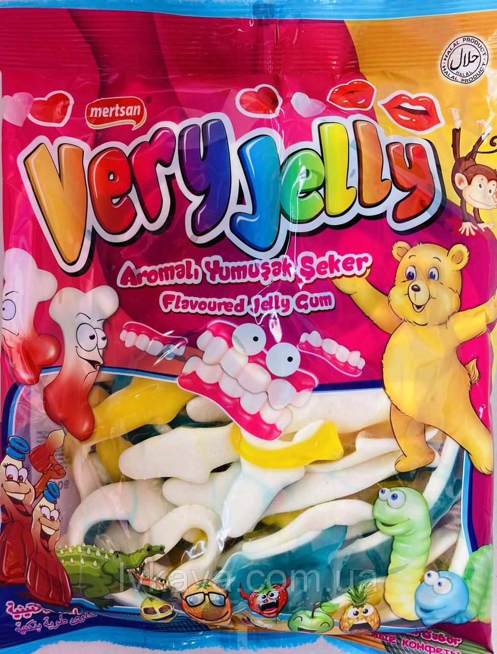 Мармеладные конфеты Акулы Very Jelly Mertsan   , 900 гр