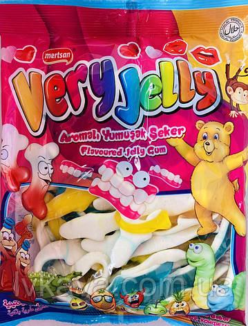 Мармеладные конфеты Акулы Very Jelly Mertsan   , 900 гр, фото 2