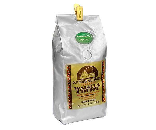 Кофе Оld Sugar Mill Brand Waialua Coffee Medium Roast в зернах 224 г