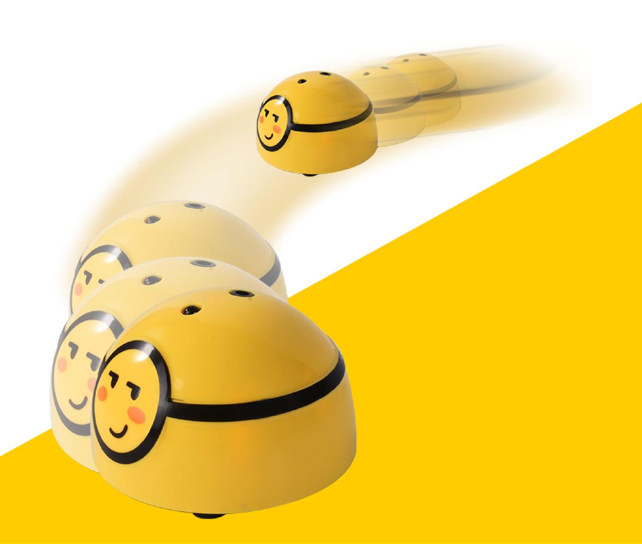 Интерактивная убегающая сенсорная игрушка Runaway Cute Car TY24S