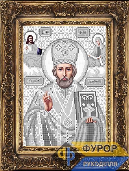 Схема для вышивки бисером иконы Св. Николай Чудотворец (Угодник) (ИБ3-024-4)