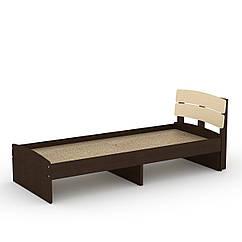Кровать Модерн 80 Компанит венге комби ZZ, КОД: 2350862