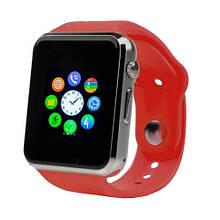 Умные часы Smart Watch A1 Red + камера