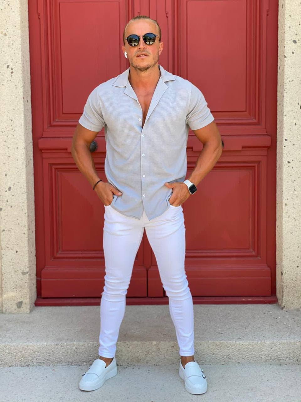 😜 Рубашка - Мужская летняя рубашка / чоловіча сорочка літня