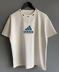 😜 Футболка - Мужская футболка Adidas Old School белая / футболка чоловіча Adidas Old School біла