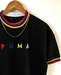 😜 Футболка - Мужская футболка PUMA черная / футболка чоловіча PUMA чорна