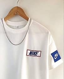 😜 Футболка - Мужская футболка NIKE Old School белая / футболка чоловіча NIKE Old School біла