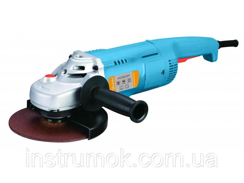 Болгарка УШМ профессиональная 230 мм, 2.4 кВт Sturm AG 9823 FР