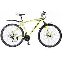 """Велосипед Champion 29"""" Lector Рама-21"""" neon yellow (2021)"""