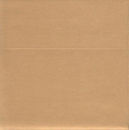 Паперовий Конверт декоративний URSUS 120гр 16,5*16,5 см з карткою 250гр Золото UR-55740079R