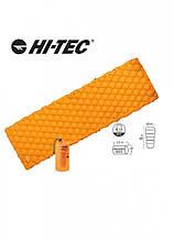 Надувний килимок Hi-Tec AIRMAT 190x60 Оранжевий HT-airmat190-orange