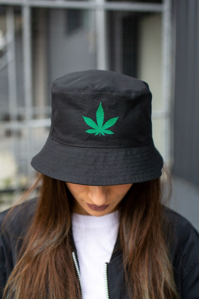 Панамка Without Cannabis Grean Woman L Black