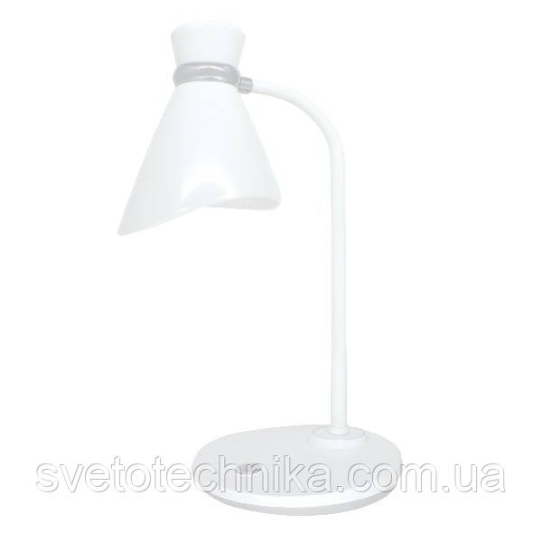Світильник настільний NIDA E27 білий