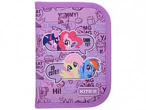 Пенал Kite My Little Pony 1 відділення, без наповнення, з 2 відворотами (1) (20) LP21-622