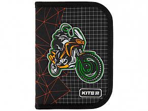 Пенал Kite Motorcross 1 відділення, без наповнення, з 2 відворотами (1) (20) K21-622-2