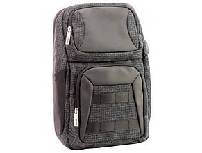 Рюкзак Optima 1 відділення, 2 кишені 14, на одне плече O96918-01