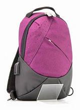 Рюкзак Optima, 1 відділення, 1 кишеня 12, на одне плече O96912-03