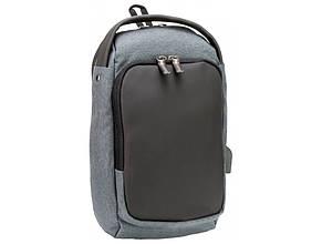 Рюкзак Optima 1 відділення, 2 кишені 14,5, на одне плече O97592-01