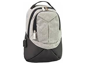 Рюкзак Optima, 1 відділення, 1 кишеня 12, на одне плече O96911-02