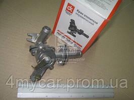 Кран отопителя ГАЗ 31029, 3110 керамический  (производство Дорожная карта ), код запчасти: 31029-8101150