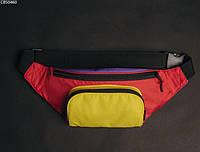Поясна сумка Staff violet yellow red, фото 1