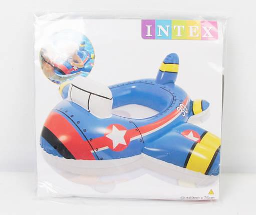 """Круг надувний """"Транспорт"""" з ніжками в пакеті INTEX, фото 2"""