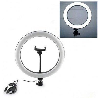 """Кільцева LED лампа USB 30cm для селфи 12"""" 028 RING LIGHT"""