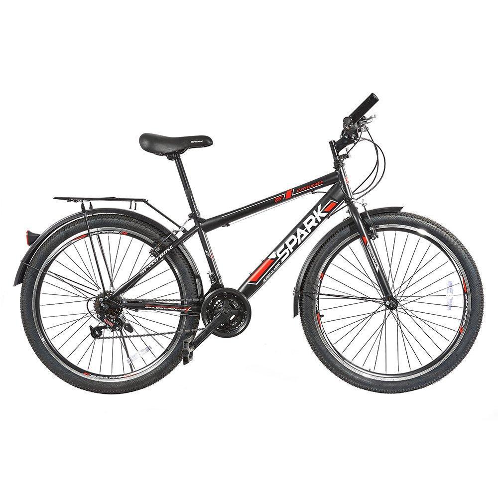 Велосипед SPARK INTRUDER 26-ST-15-ZV-V (Чорний з червоним)