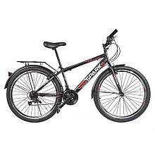 Велосипед SPARK INTRUDER 26-ST-15-ZV-V (Черный с красным)