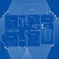 Відеоспостереження AHD 2Мп 8 камер для приватного будинку