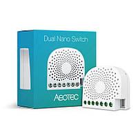 Двойное вставное реле Aeotec Dual Nano Switch ― AEOEZW140