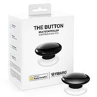 Кнопка управління FIBARO The Button для Apple HomeKit black (чорний) - FGBHPB-101-2