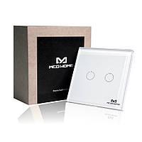 Сенсорний вимикач Z-Wave MCO Home на 2 каналу — MCO_TPS312