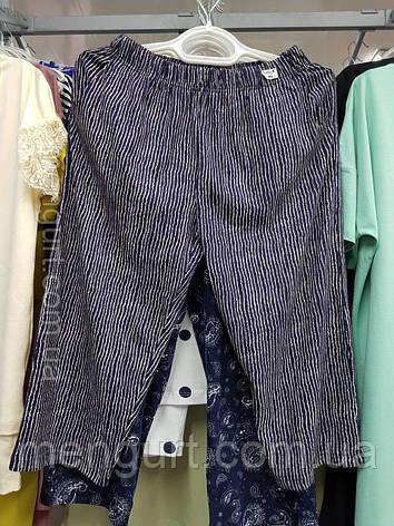 Бриджі жіночі з кишенями бавовна, фото 2