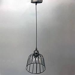 Люстра подвесная в стиле лофт YS-IR007/1 BK (1 лампа)