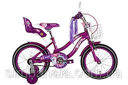 """Велосипед 16"""" Formula FLOWER PREMIUM 2021 (перламутровий фіолетовий)"""