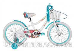 "Велосипед 18"" Formula CREAM 2021 (біло-аквамариновий)"