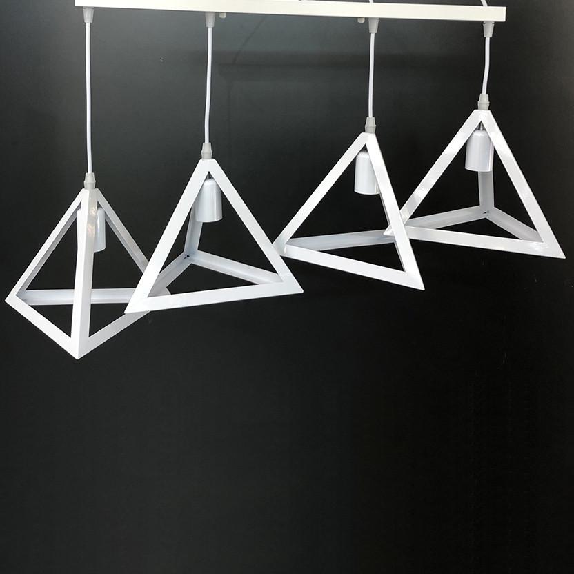 Люстра підвісна в стилі лофт YS-TY001-B/4 WH (4 лампи)