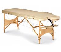 Стол массажный складной Пчелка переносной портативный, материал конструкции дерево-бук
